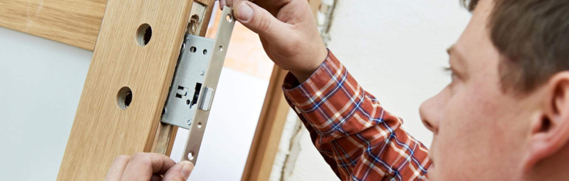 How To Fit A Door Lock