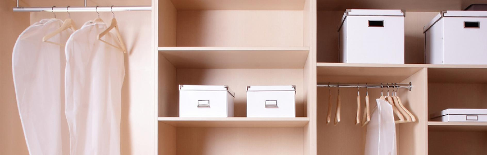 How to fit an extra shelf in your wardrobe